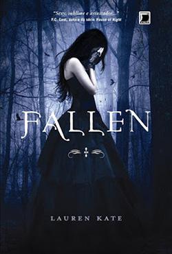 capa do livro fallen