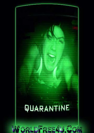 Poster Of Quarantine In Dual Audio Hindi English 300MB Compressed Small Size Pc Movie Free Download Only At worldfree4u.com