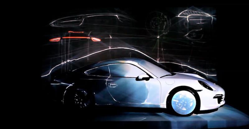 自動車に投影されたプロジェクションマッピングまとめ