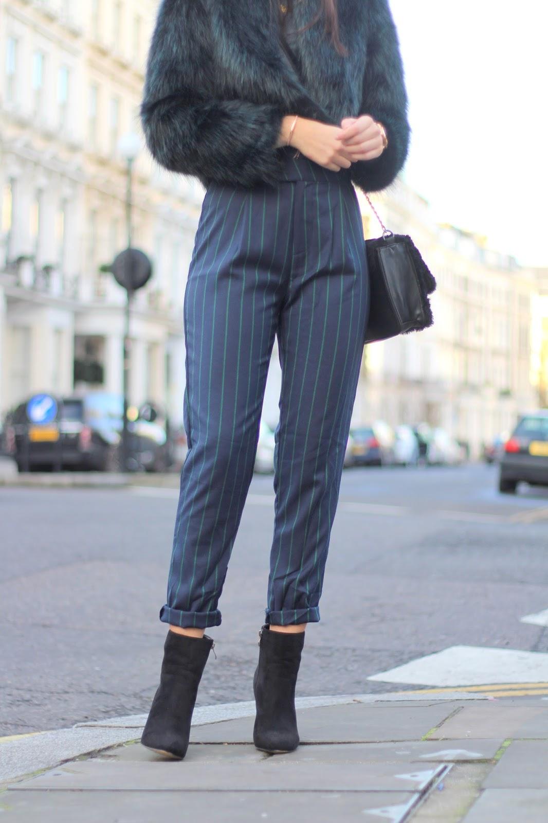 pinstripe trousers PLT peexo