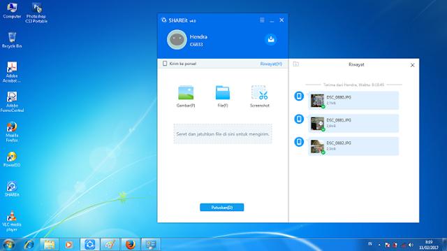 Cara Mudah Mengirim File Dari Handphone ke PC Menggunakan SHAREit - Blog Mas Hendra