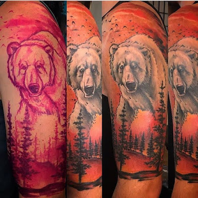 bear tattoo designs ideas