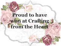 Winner at Crafting From The Heart