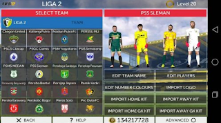 Download FTS 17 Mod Traveloka League 1 Indonesian Apk + Data Obb