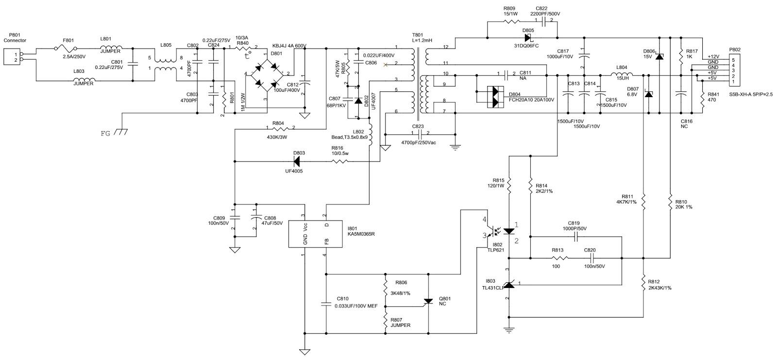 Schematic Diagrams  Aoc Al512  U2013 Aoc Al513  U2013 15 Inch Tft Lcd Monitor  U2013 Circuit Diagram