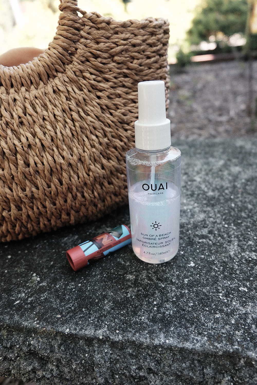 ouai sun of a beach ombre spray review