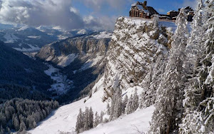 Kar ve Kış HD Manzara Fotoğrafları