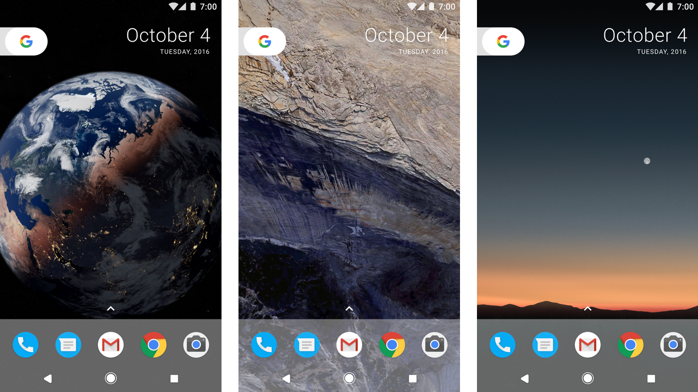 Download Google Pixel 2 stock and live wallpapers QHD