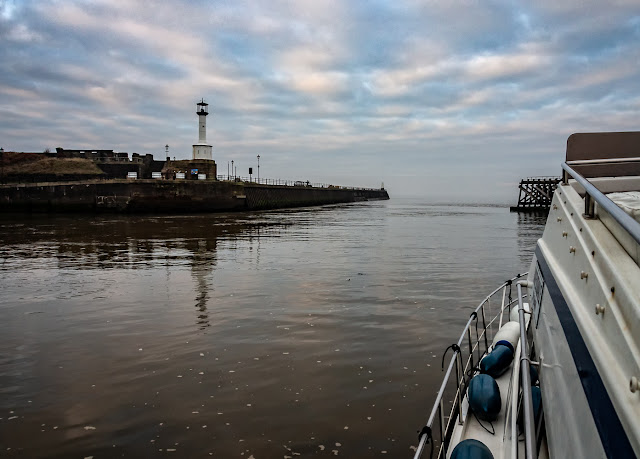 Photo of Ravensdale leaving Maryport for the first time this year