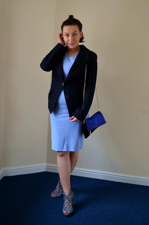Adriana Style Blog, blog modowy Puławy, Fashion, moda, Vivienne Westwood Blazer, Classics in a wardrobe, Klasyki w szafie, Styl, Klasyka, Syle, Classics, Dress, Sandal Heels, Sukienka