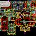 مخطط مشروع قصر (فيلا كبيرة ) مخططات معمارية اوتوكاد dwg