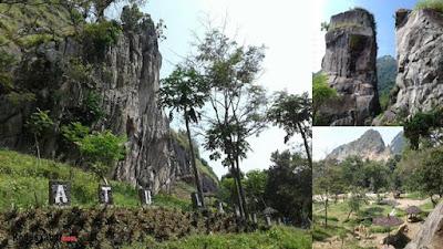 Pesona Obyek Wisata Alam Batu Lawang Cupang Yang Indah