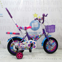 Sepeda Anak Lazaro Tongkat 12 Inci