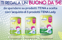 Logo ''Tena ti regala Tena con buoni spesa da 5€: premio certo!