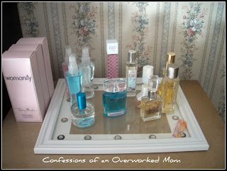 Make a perfume tray