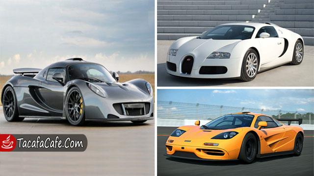 بالصور.. أسرع 10 سيارات في العالم!
