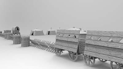 Hussite Wagons, Tents, Field works picture 2