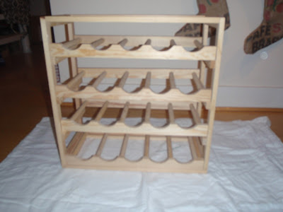 that 39 s what she fed diy in the kitchen wine rack. Black Bedroom Furniture Sets. Home Design Ideas