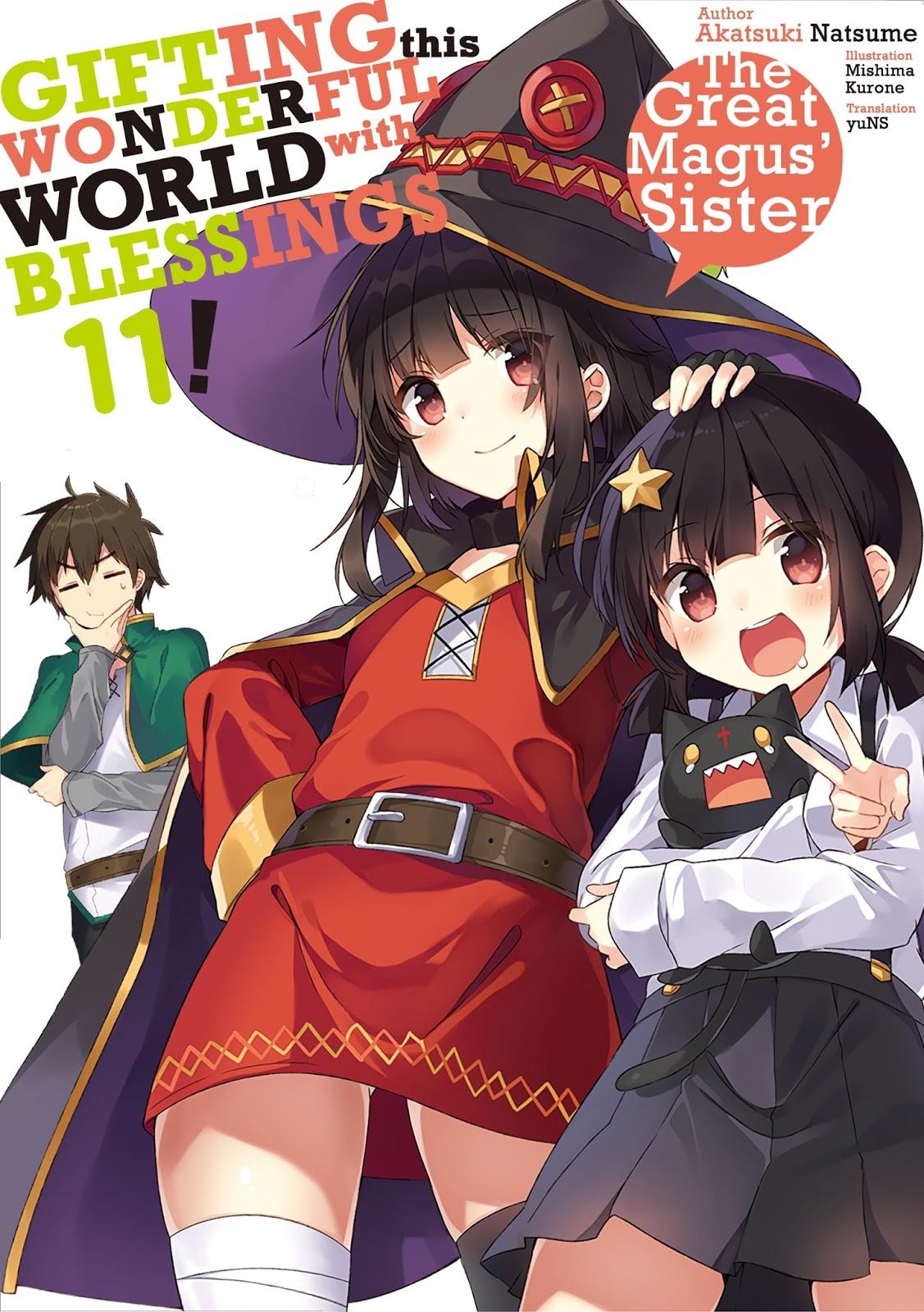 Light Novel Kono Subarashii Sekai ni Shukufuku wo! PDF EPUB Volume 1 - 10