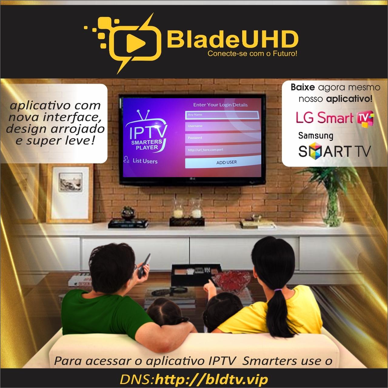 Blade UHD | Canais de TV em HD, Full HD, H265 e 4k | Filmes, Shows