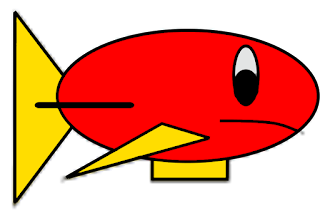 Picture of Red the Fish Blimp from Dream Team Royale