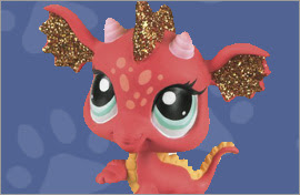LPS Dragon Figures