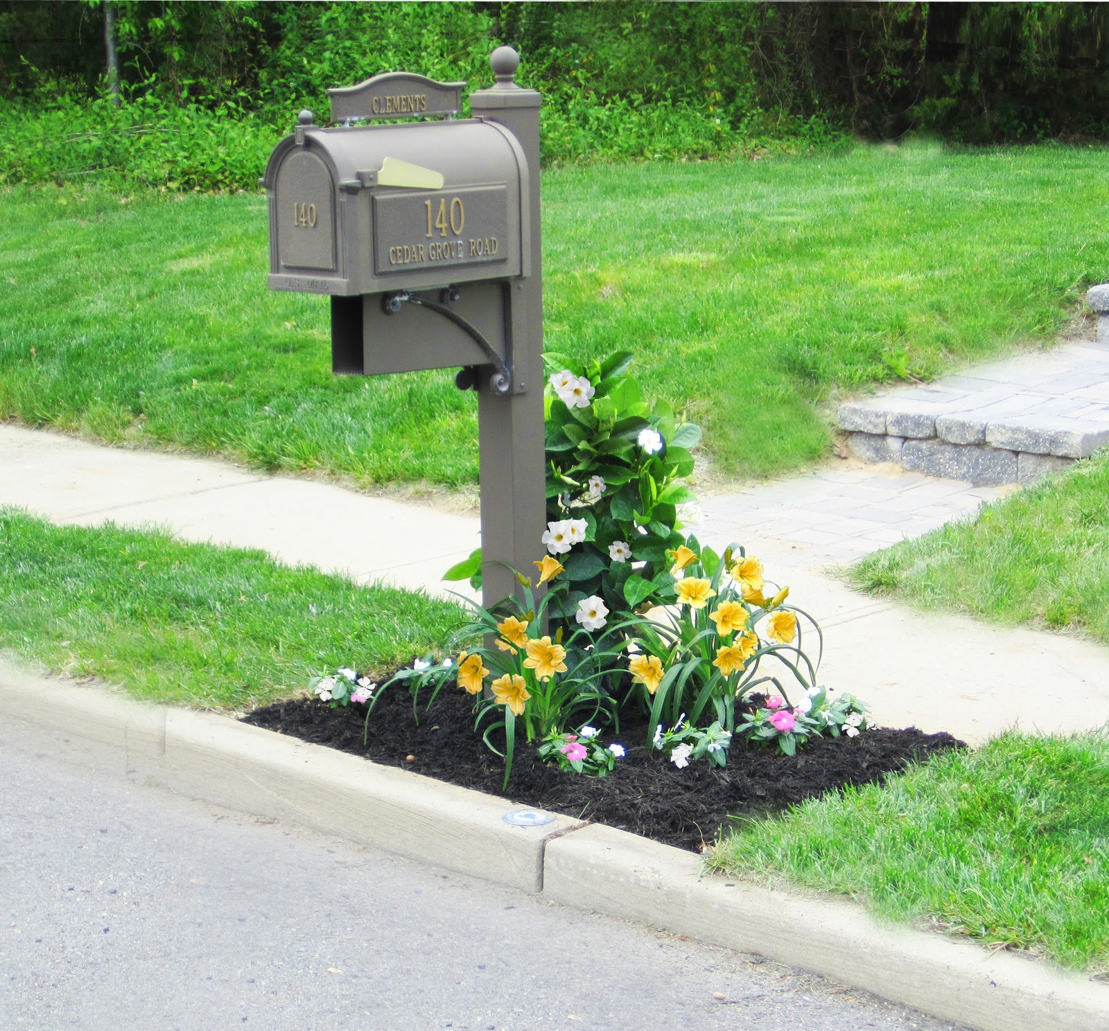 Easily create instant curb appeal with Monrovia plants in just a few hours