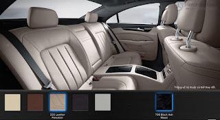 Nội thất Mercedes CLS 500 4MATIC 2016 màu Vàng Porcelain 225