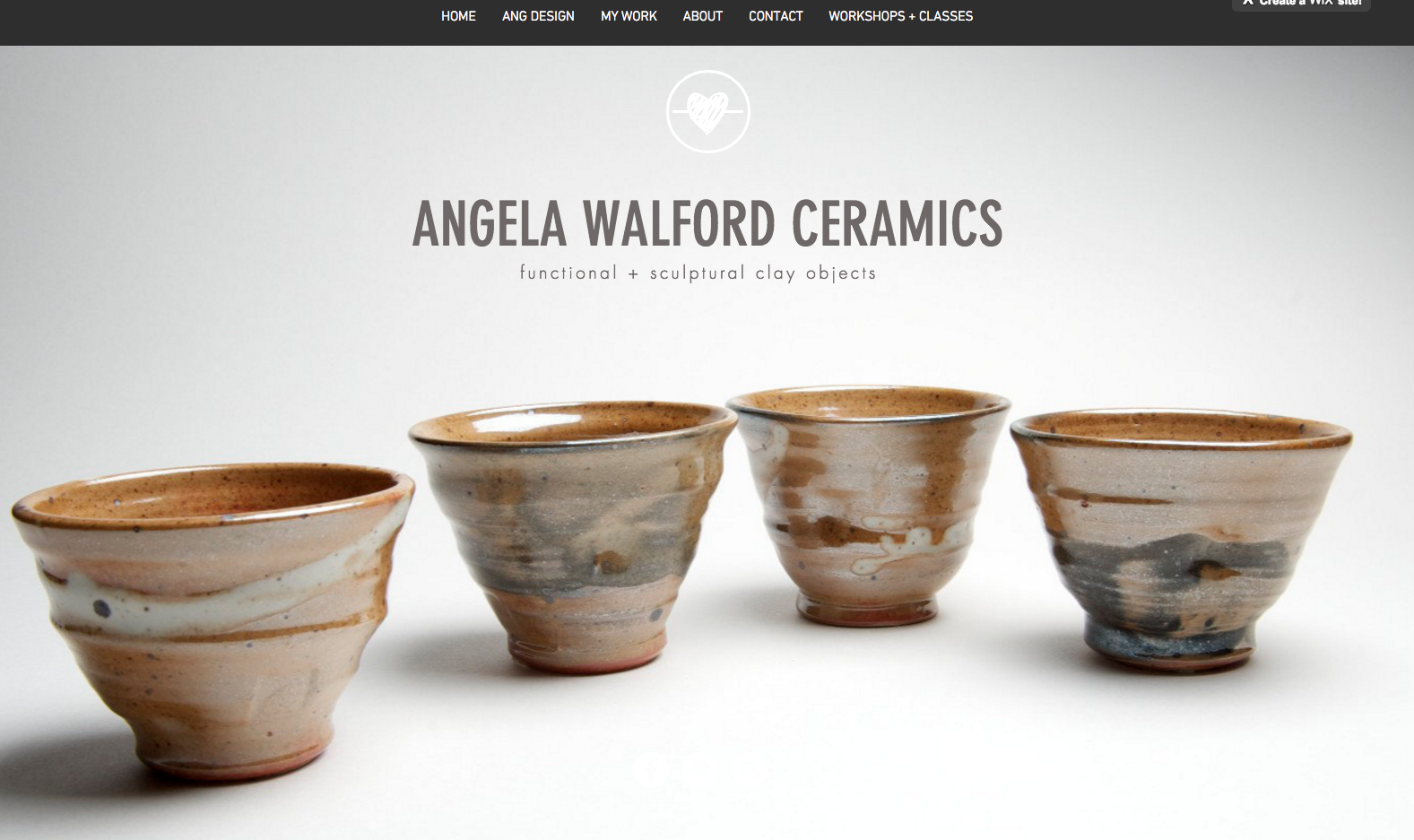 angela walford ceramics website