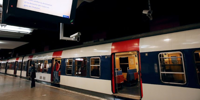 Como andar de metrô em Paris