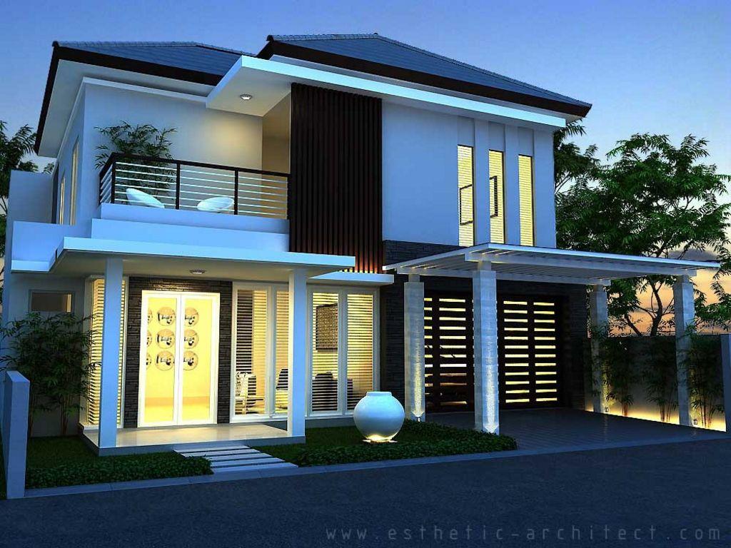 contoh rumah type 120 minimalis terlihat menawan