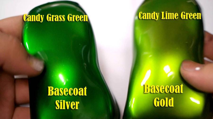 Aplikasi Pengecatan Otomotif Candy Tone Warna Hijau Gr Green Dan Lime