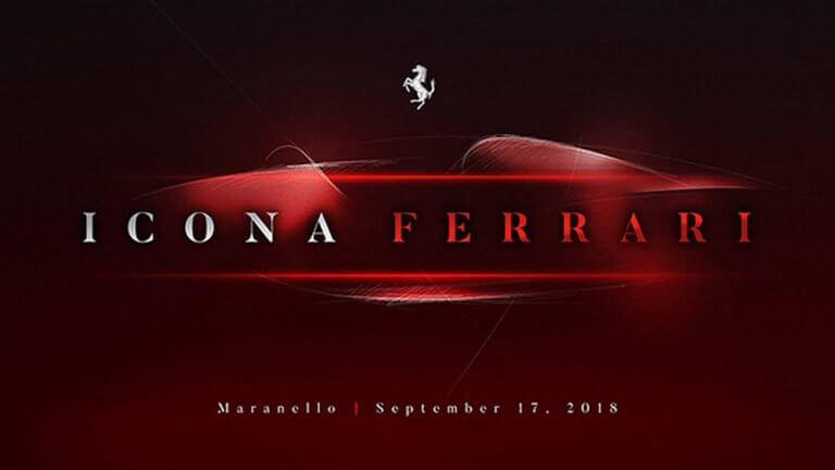 New Ferrari Supercar Teased, Will Launch On September 17