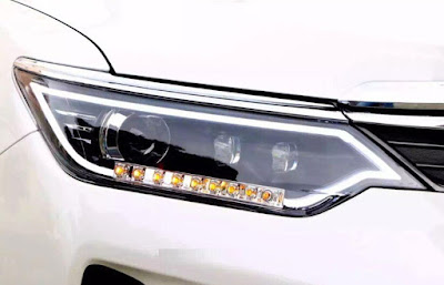 toyota camry 2017 front lights view image