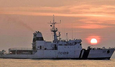 ICGS Vigraha Decommissioned at Visakhapatnam
