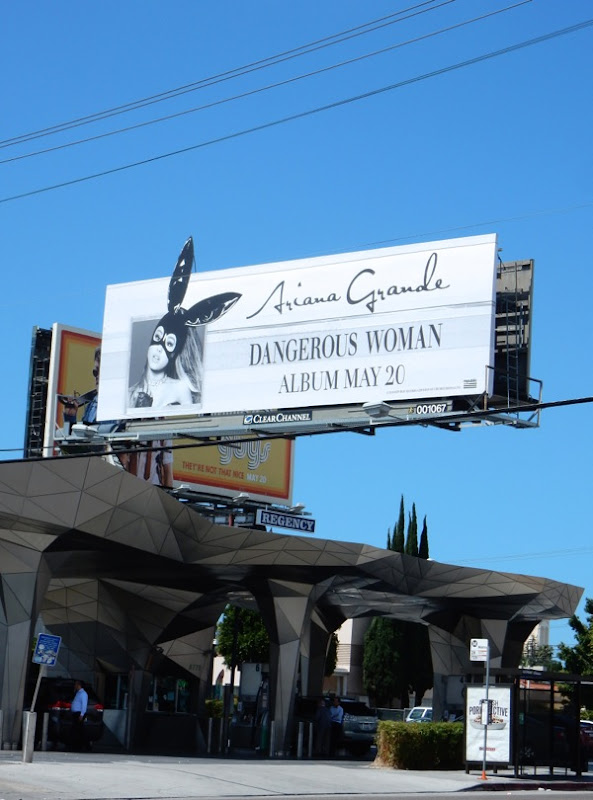 Ariana Grande Dangerous Woman billboard