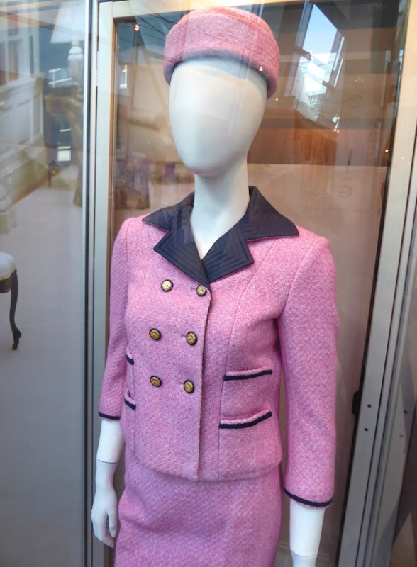 Natalie Portman Jackie pink film costume