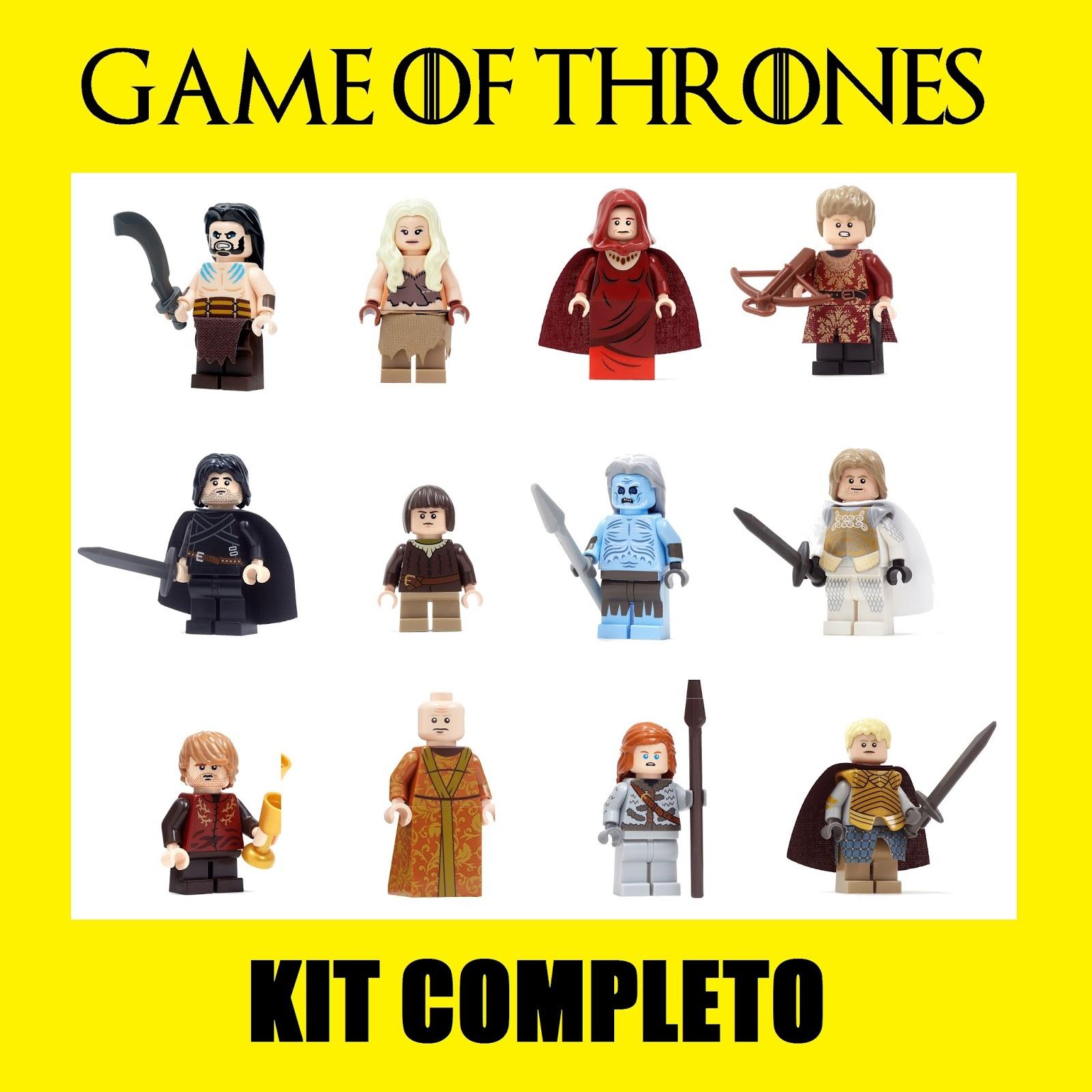boneco lego game of thrones jon snow