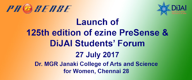 Launch of DiJAI Students Forum on 27th July 2017