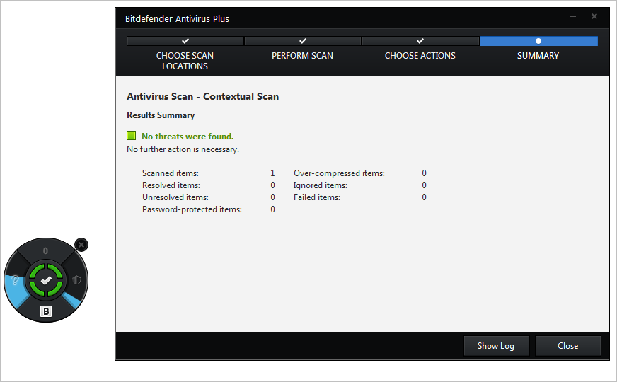 Bitdefender-Antivirus-Plus-Security-Widget-scan