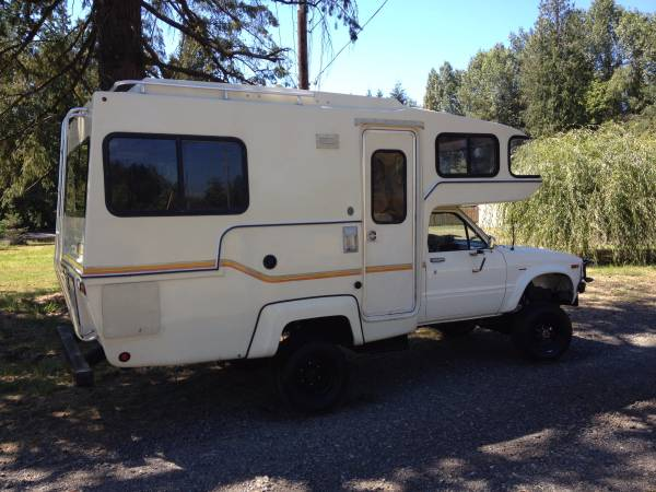 Used Rvs 1982 Toyota Sunrader 4x4 Turbo Diesel For Sale By