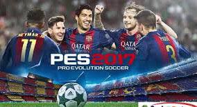 PES 2017 APK Pro Evolution Soccer dengan tampilan baru
