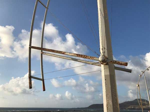 El PP de Las Palmas de Gran Canaria denuncia el deplorable estado  del alumbrado de Las Canteras