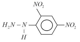 formula quimica 2,4-dinitrofenilhidrazina