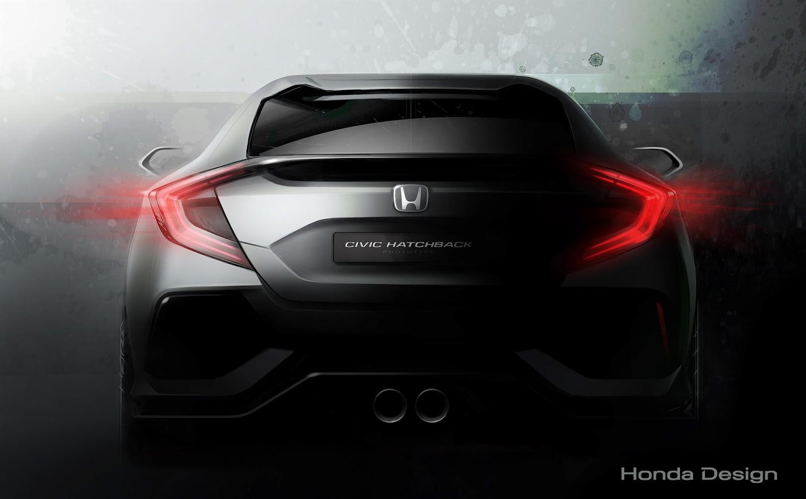 71160 Civic Hatchback Prototype%2B%25281%2529 Η Honda μας δείχνει (λίγο) από το νέο Civic autoshow, Honda, Honda Civic Hatchback Prototype, Honda Clarity Fuel Cell, Honda Jazz, Honda NSX, Prototype, Σαλόνι Αυτοκινήτου της Γενεύης