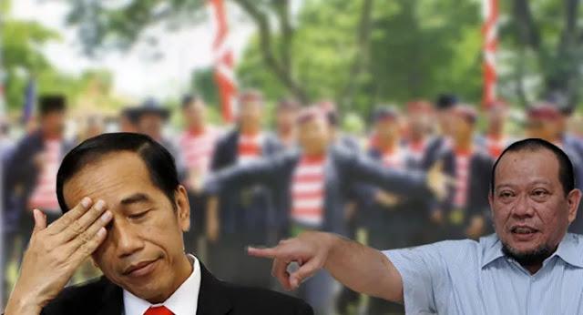 La Nyalla, Politik Belah Bambu Jokowi?