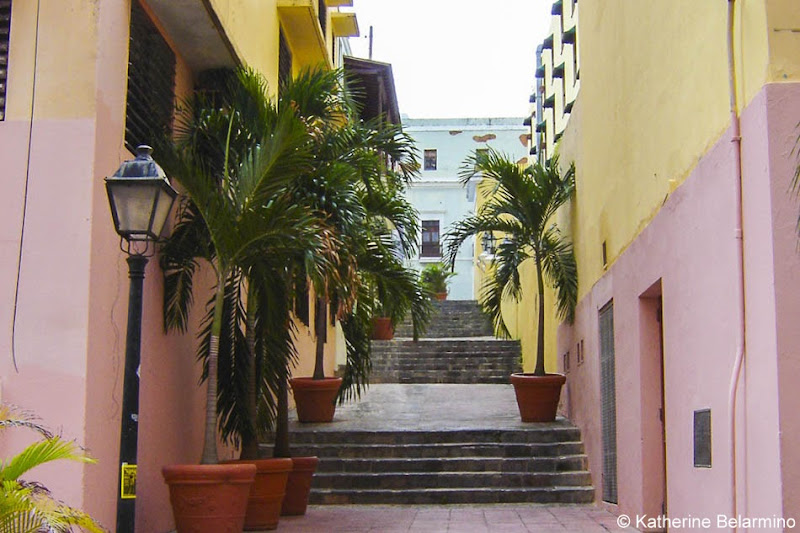 Colorful San Juan Puerto Rico Buildings Romantic Couples Getaway