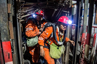 Explosão em uma mina de carvão na China deixa mais de 30 mortos