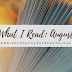 What I Read: August