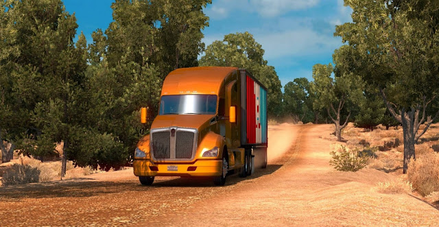 American Truck Simulator USA Offroad Map v 0.2 for v 1.0.0.x ATS Download MODs